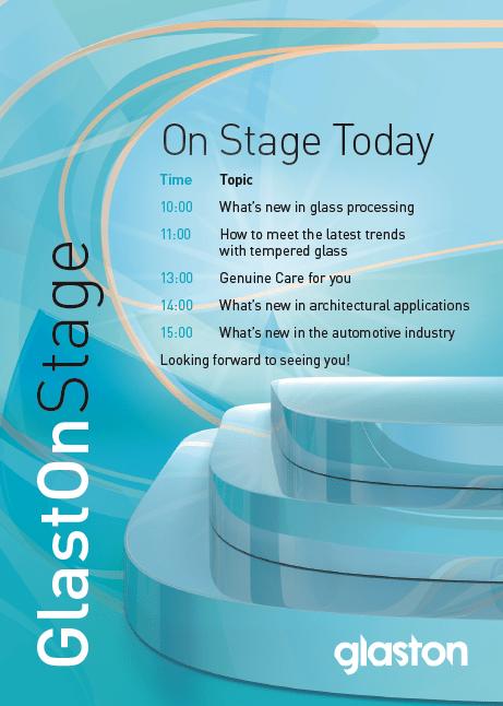 GlastOnStage program 2014