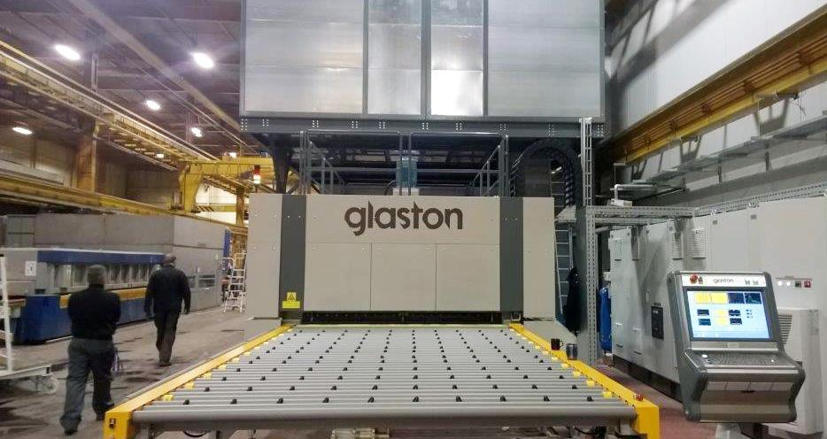 Glaston FC500 at TuffX Glass, UK