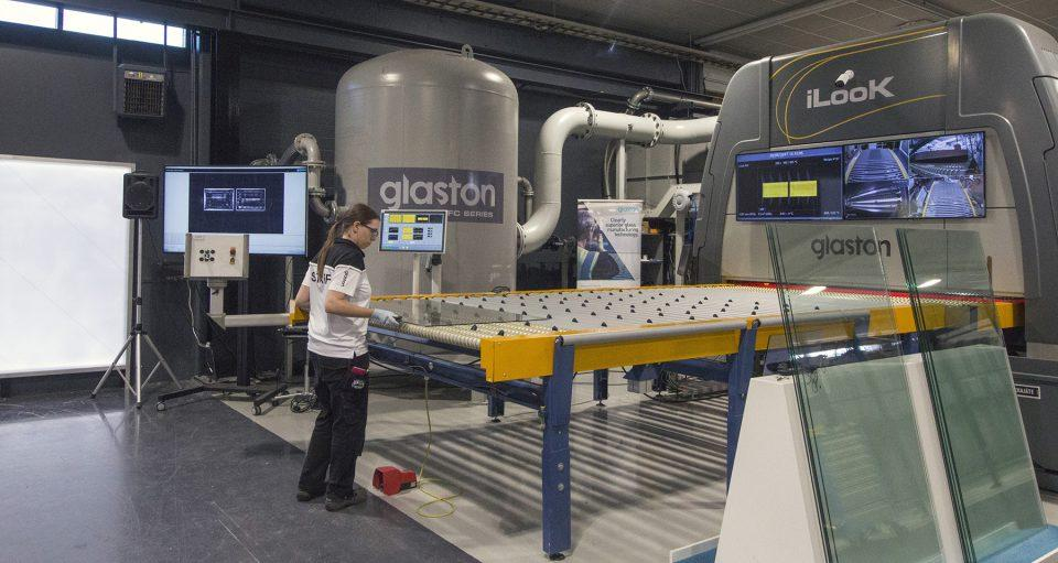 Glaston FC Series flat tempering furnace