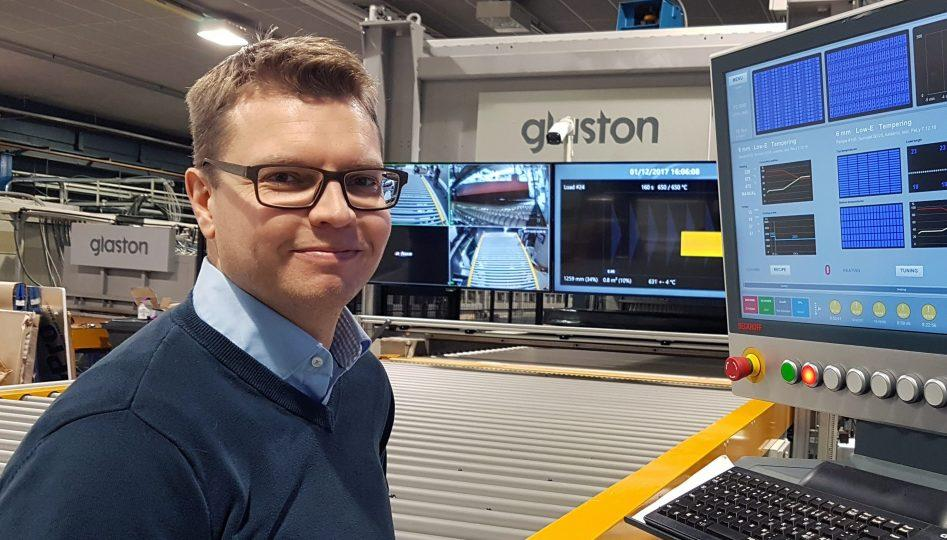 Kai Knuutila Digitalization Manager Glaston