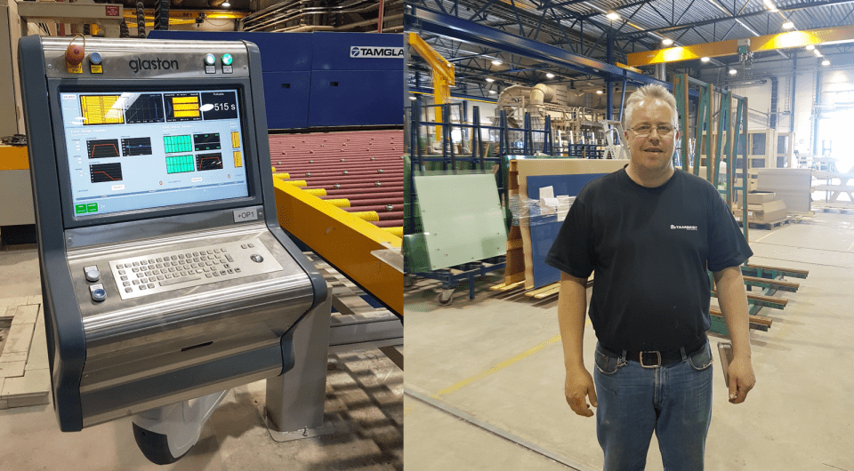 Glaston iControL automation system upgrade at Tambest, Finland