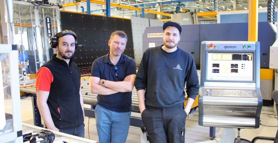 Roller heat control RHC upgrade at Martin G Andersson